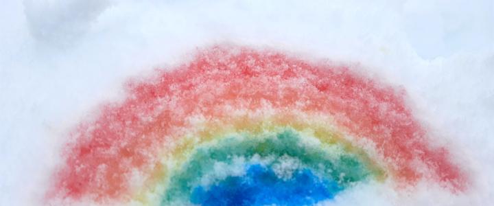 La gran nevada 2021:      lienzo y patio de juegos para espíritus aventureros